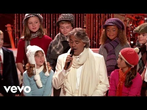 Andrea Bocelli - Santa Claus Is Coming To Town - YouTube