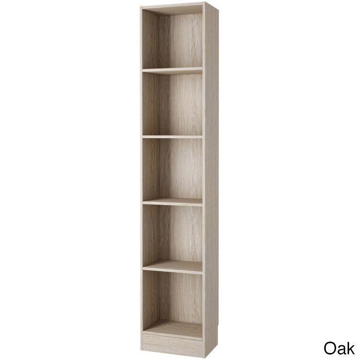 Element Tall Narrow 5-shelf Bookcase (