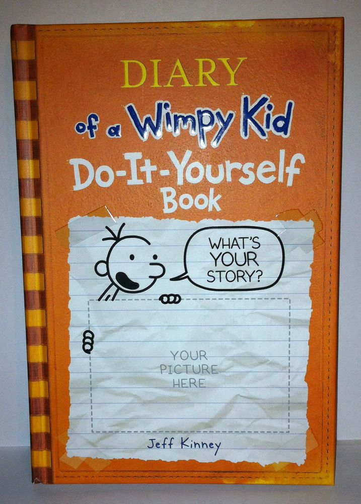 15 best diary of a wimpy kid images on pinterest wimpy kid diary of a wimpy kid do it yourself book do it yourself hardcover jeff solutioingenieria Choice Image