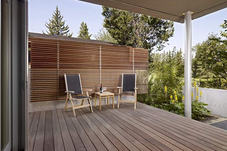 Modern Deck And Deck Railing Ideas Montreal Outdoor