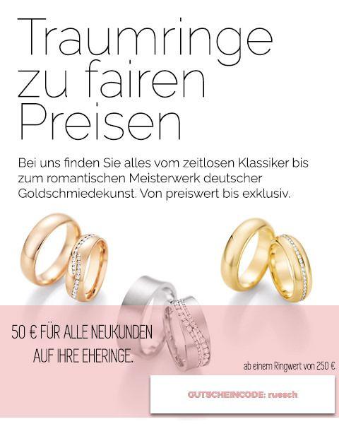 Hochwertige Eheringe online kaufen