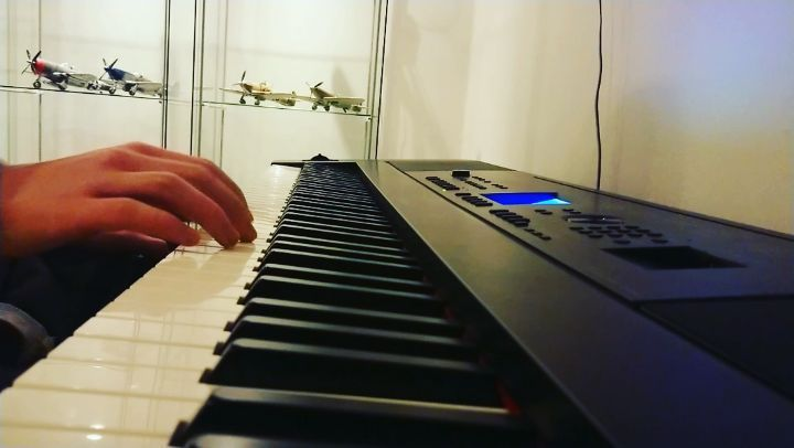 Just waiting for season 2 of Westworld  maybe a bit too much de tuning but sounds close enough to the sweetwater theme  #westworld #sweetwater #piano #hbo #series #music #western