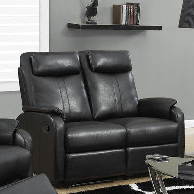 Monarch Specialties Abiline Reclining Leather Loveseat - Talk about a great reason to stay in tonight. The Monarch Specialties Abiline Reclining Leather ... & 39 best Reclining Chair Sofa images on Pinterest | Reclining sofa ... islam-shia.org
