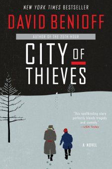 City of Thieves, by David Benioff - revirew by Maria Castello on Four Score and Seven Books Ago 4scoreandsevenbooksago.wordpress.com