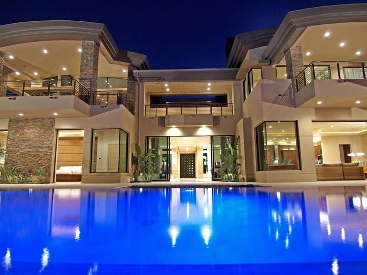 108 best luxurious homes images on pinterest dream for Las vegas dream homes