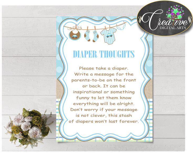 44 best Baby Shower Boy Blue Clothesline Games, Invitations - baby shower message