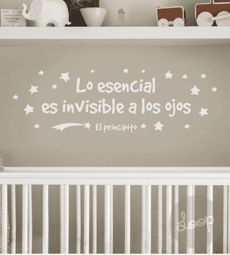 """VINILO """"Lo esencial es invisible a los ojos"""""""