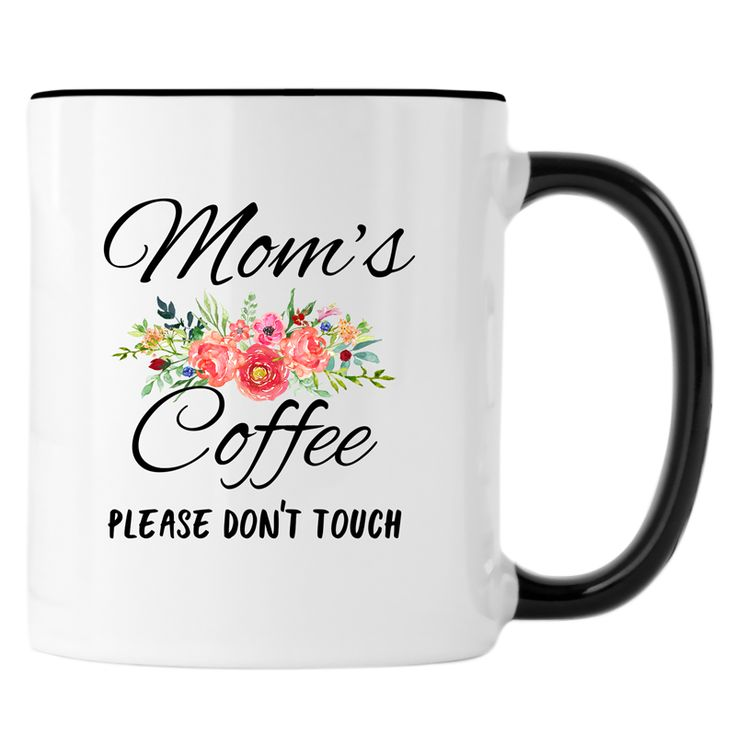 Mom's Coffee Please DPerfect for coffee, tea and hot chocolate, this classic shape white, durable ceramic mug in the most popular size. High quality sublimation printing makes it an appreciated gift to every true hot beverage lover.   - Two Sided Design - Material: Ceramic - Size: 11 or 15 Fluid oz. - Care: Dishwasher + Microwave Safe  Dimensions 11 oz. Approx. 3.74H x 3.14D 15oz. Approx. 4.72H x 3.14Don't Touch Mug