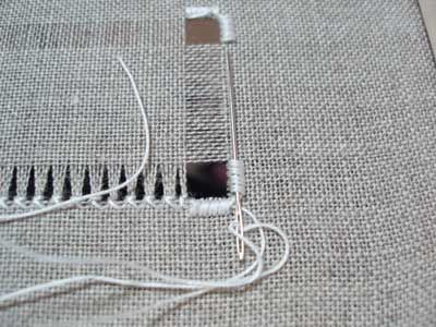 How-To: Hemstitch in Drawn Thread Embroidery from Mary Corbet