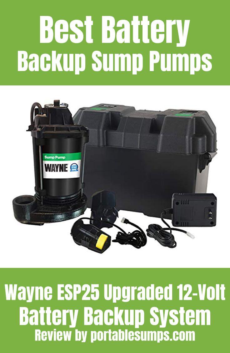 Best Battery Backup Sump Pumps Backup Sump Pump Sump