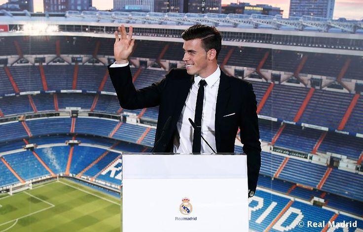 Gareth Bale comes to Real Madrid #WelcomeBale #HalaMadrid