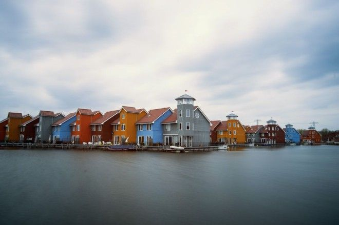 Reitdiephaven, Groningen, The Netherlands   1,000,000 Places