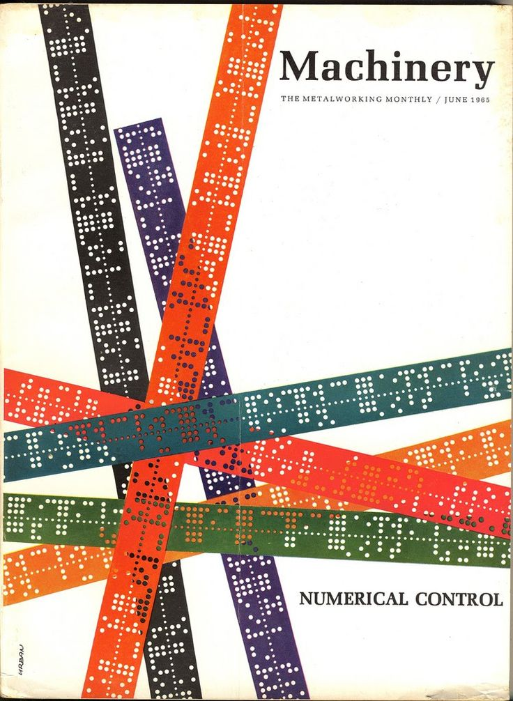 Mad for Midcentury: Mid-Century Design of Machinery Magazine