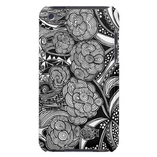 A unique Gardens #16 hand drawn art iPod case iPod Touch Case-Mate Case