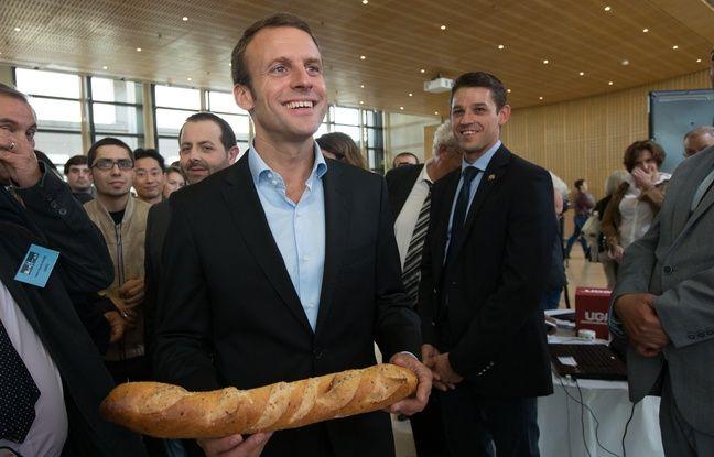 Macron veut l'inscription de la baguette au patrimoine mondial de l'Unesco