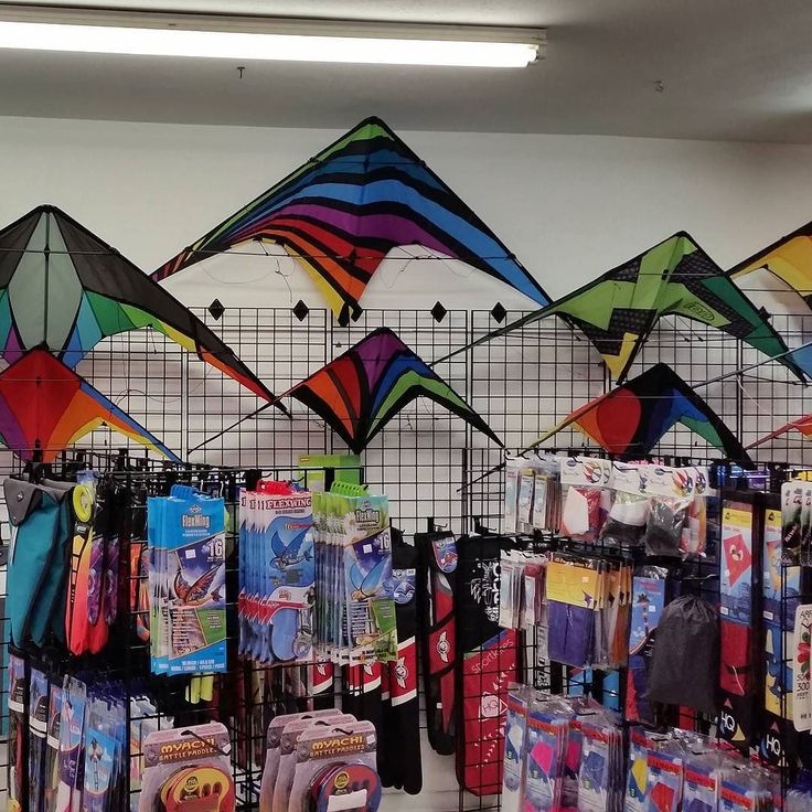 It's starting to look like a #kite store!