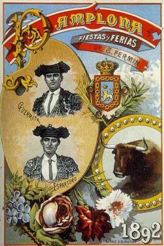 San Fermín 1892                                                                                                                                                      Más