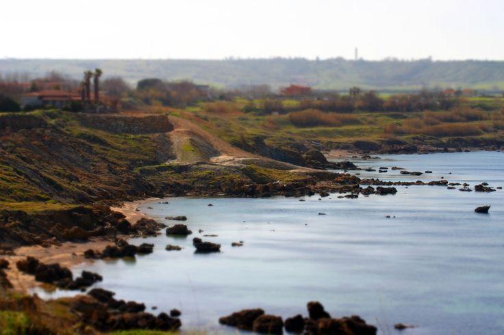 Tilt Shift Beach,   Calabria, Italy