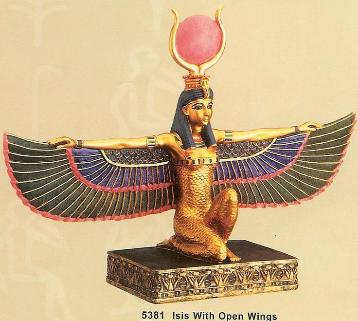 Isis with Open Wings