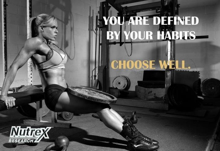 You are defined by your habits.