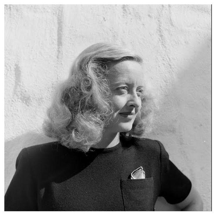 Bette Davis, great actress.
