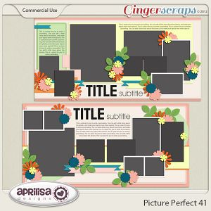 Picture Perfect 41 - Double Pages