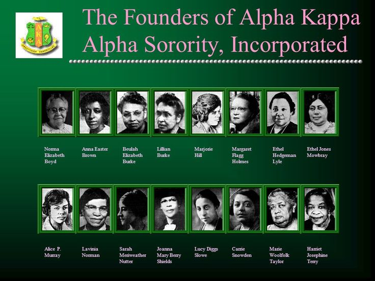 Informational Presentation. The History of Alpha Kappa Alpha Alpha ...