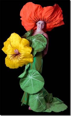 disfraces de flores caseros - Buscar con Google