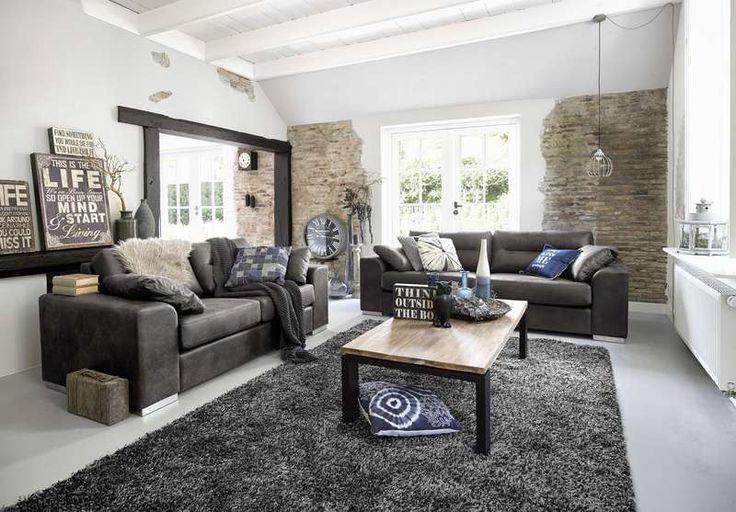 De zitbank cossini is een heerlijk comfortabele bank en echt een lust voor het oog het - Een rechthoekige woonkamer geven ...