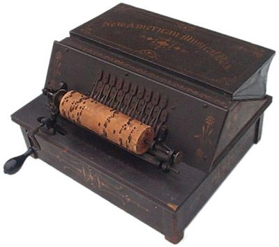 Never under-estimate the haunting sound of a REAL #antique musical box