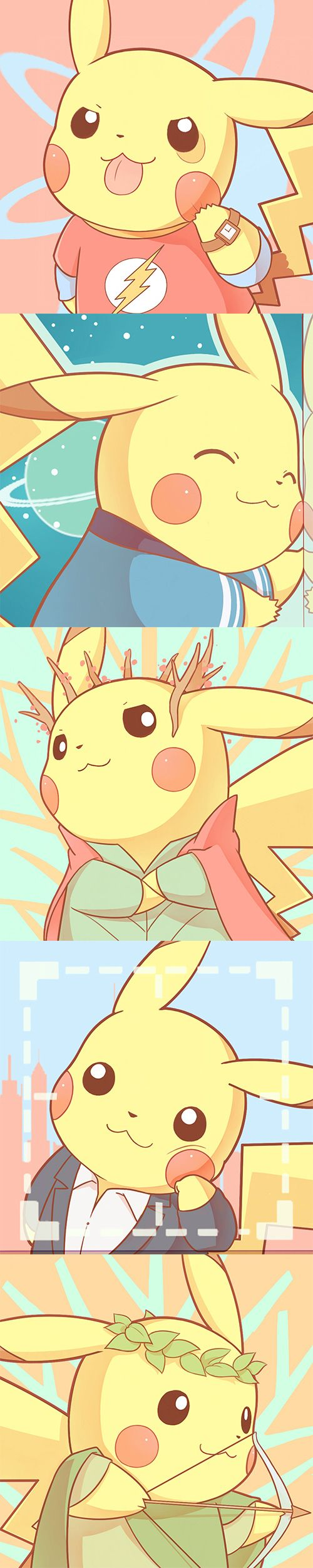 [Pokemon Daily] Flash Pikachu!