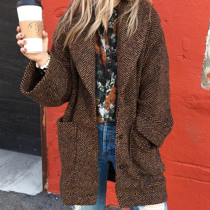 Spice Jacket and coffee