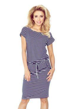 583984257d Športové šaty v námorníckej modrej 139-1