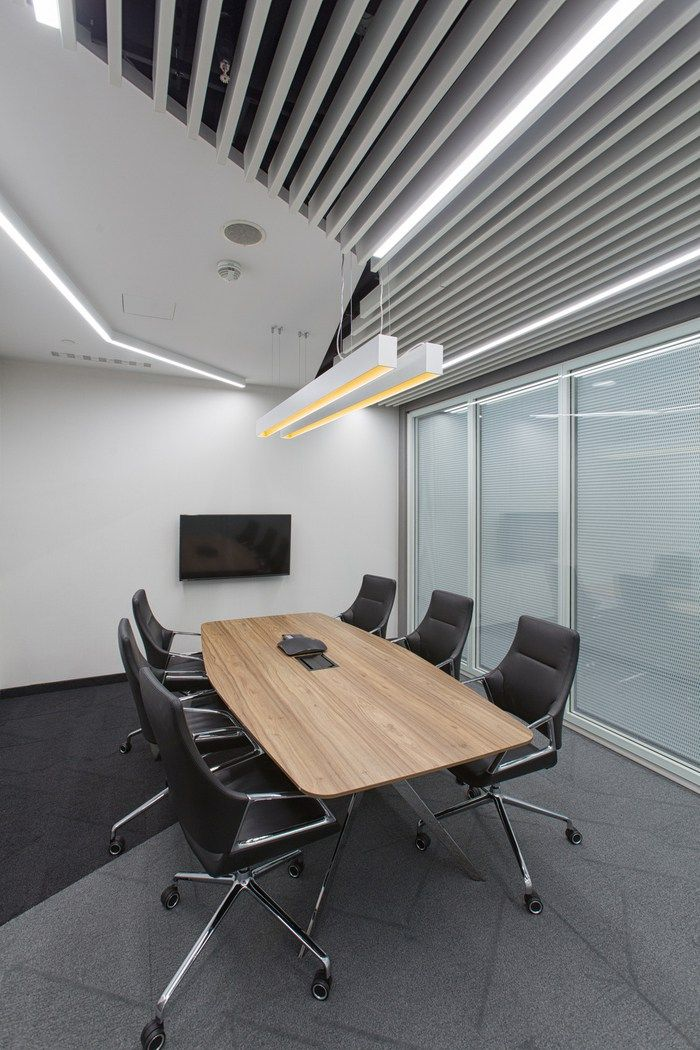 Massive Design Has Designed The New Offices Of Global Advisory Company EY Located In Warsaw Poland Finished Realization Their