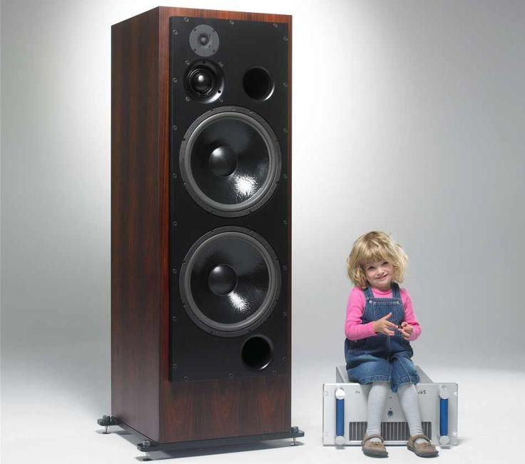 Beautiful ATC SCM300ASLT. Speaker DesignLoudspeakerCool ...