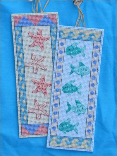 Seaside Bookmarks