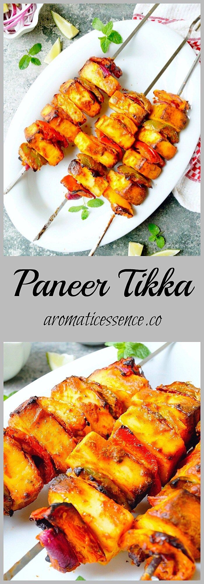 Paneer tikka - Aromatic Essence