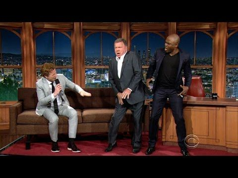 Star Trek's William Shatner And Wayne Brady Klingon Rap The Late Show