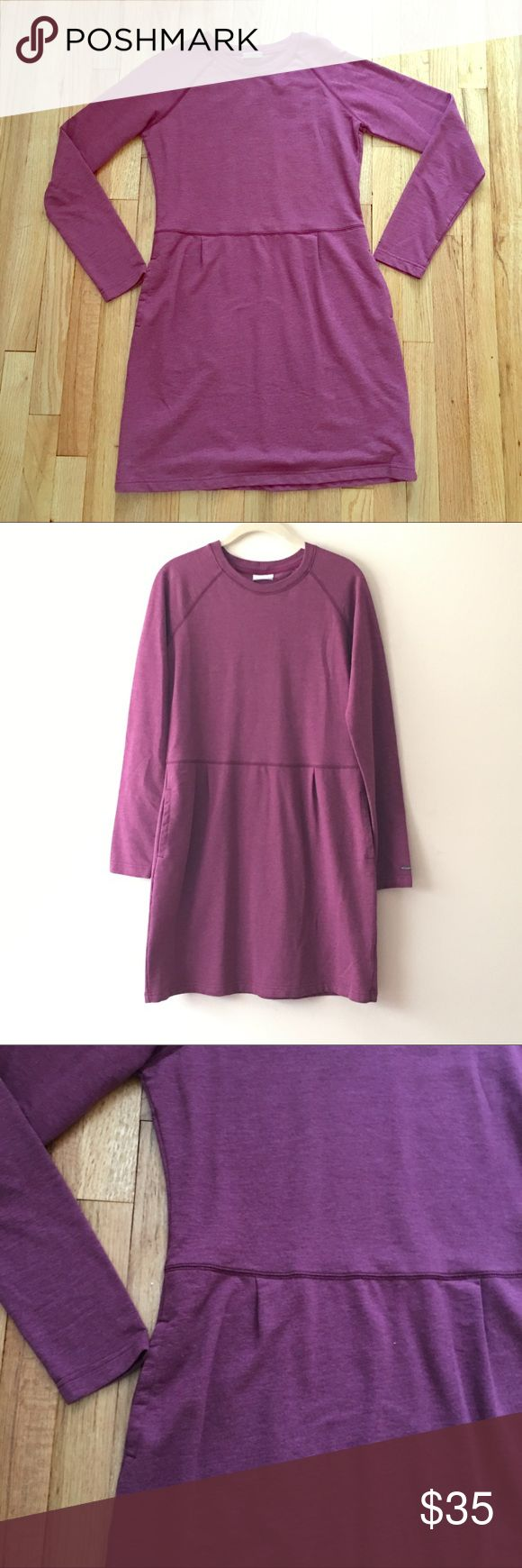 Like new Columbia sweatshirt dress Super soft & cute sweatshirt dress from Columbia brand. Columbia Dresses Long Sleeve
