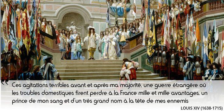 Fronde : jamais Louis XIV n'oubliera l'humiliation et l'insécurité de sa jeunesse. Quel est le nom de ce prince ?