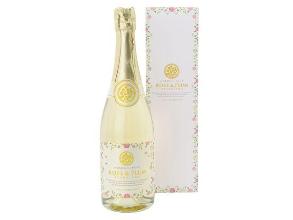 バラ梅酒スパークリングワイン