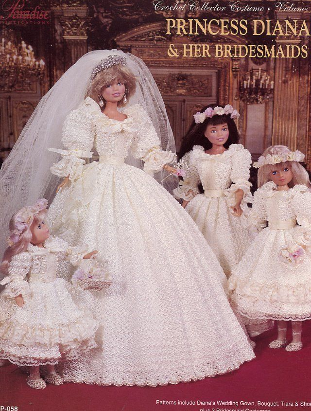 395 best barbie wedding dress images on Pinterest   Barbie doll ...