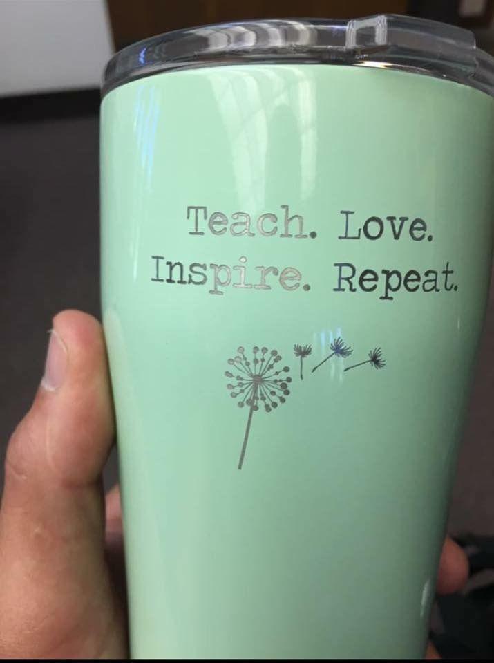 SIC cups for teachers