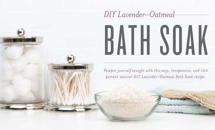 DIY Lavender-Oatmeal Bath Soak | Young Living Blog