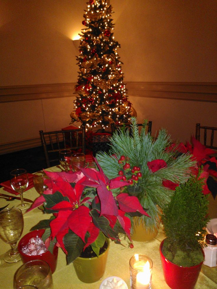 17 Best Images About Christmas Table Centerpieces On