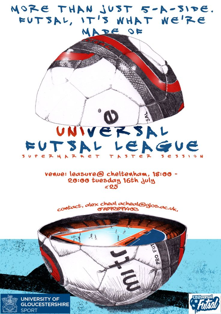 futsal invitation