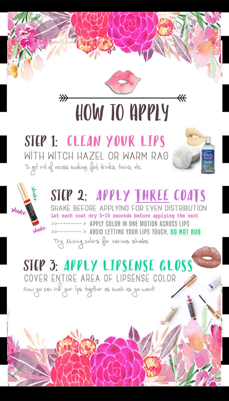 Mod Stripes By Bessknowsbest On How To Apply Lipsense Distributor 198827