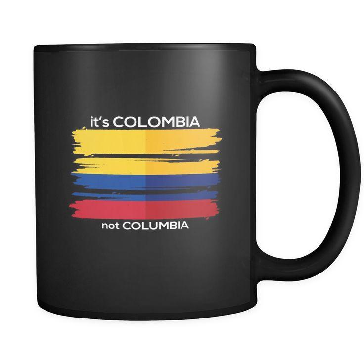 Colombia / Colombian Flag / Travel Vacation Souvenir 11oz Mug