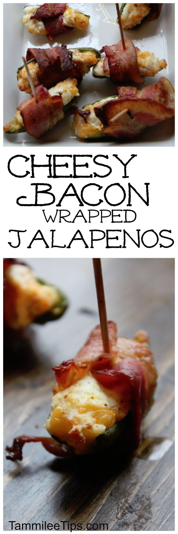 Cheesy Bacon Wrapped Jalapenos Recipe