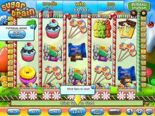 Sugar Train online slots  www.gossipbingo.com